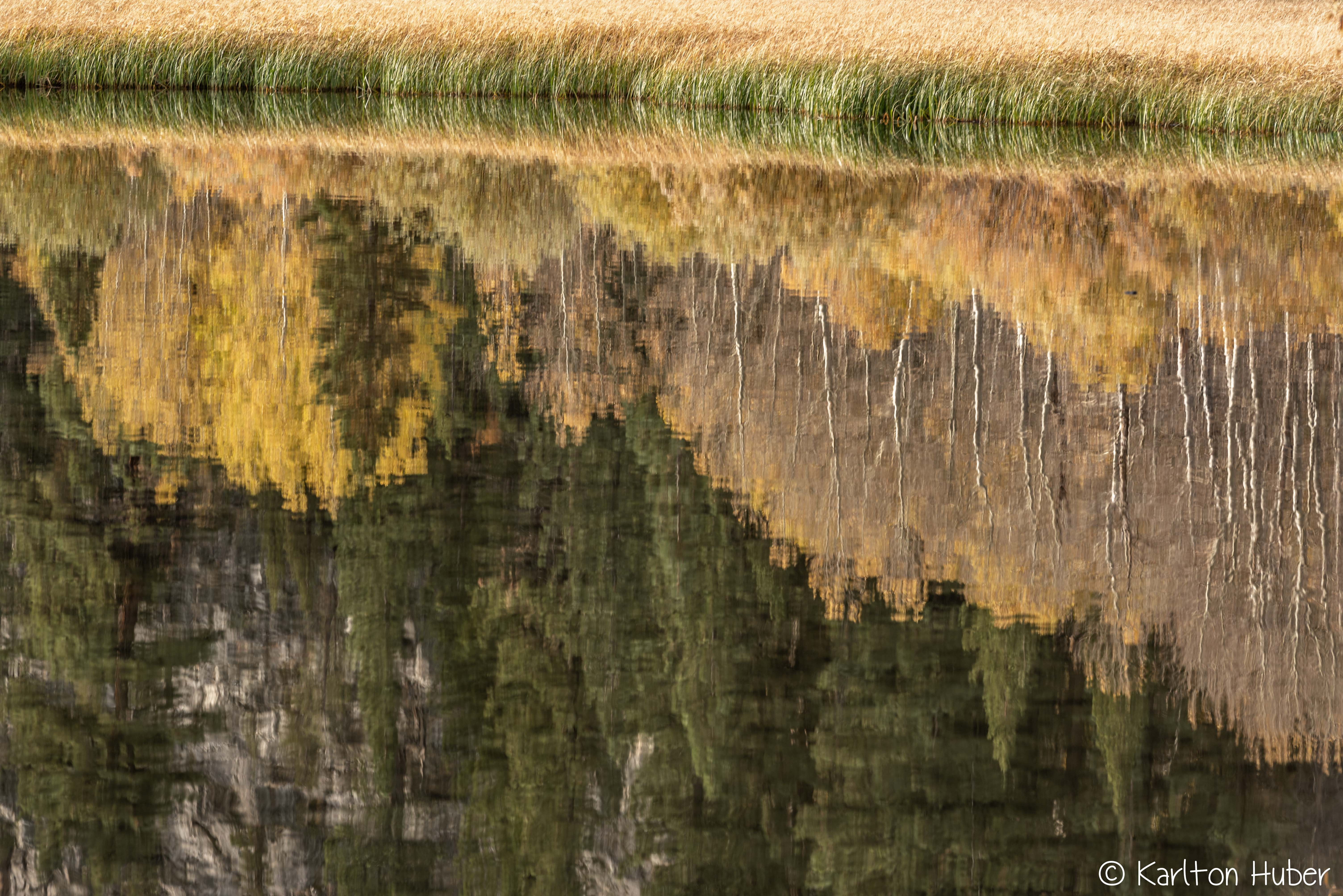 2019 Fall Colors - Lake Reflections_8824