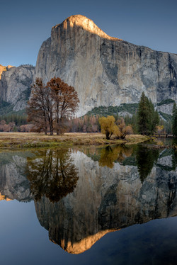 Yosemite Valley - El Capitan, Morning Light