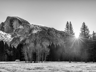 Yosemite Valley - Ahwanhnee Meadow Sun Up