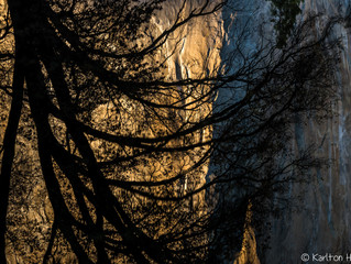 Yosemite Valley - Golden Hour Reflections