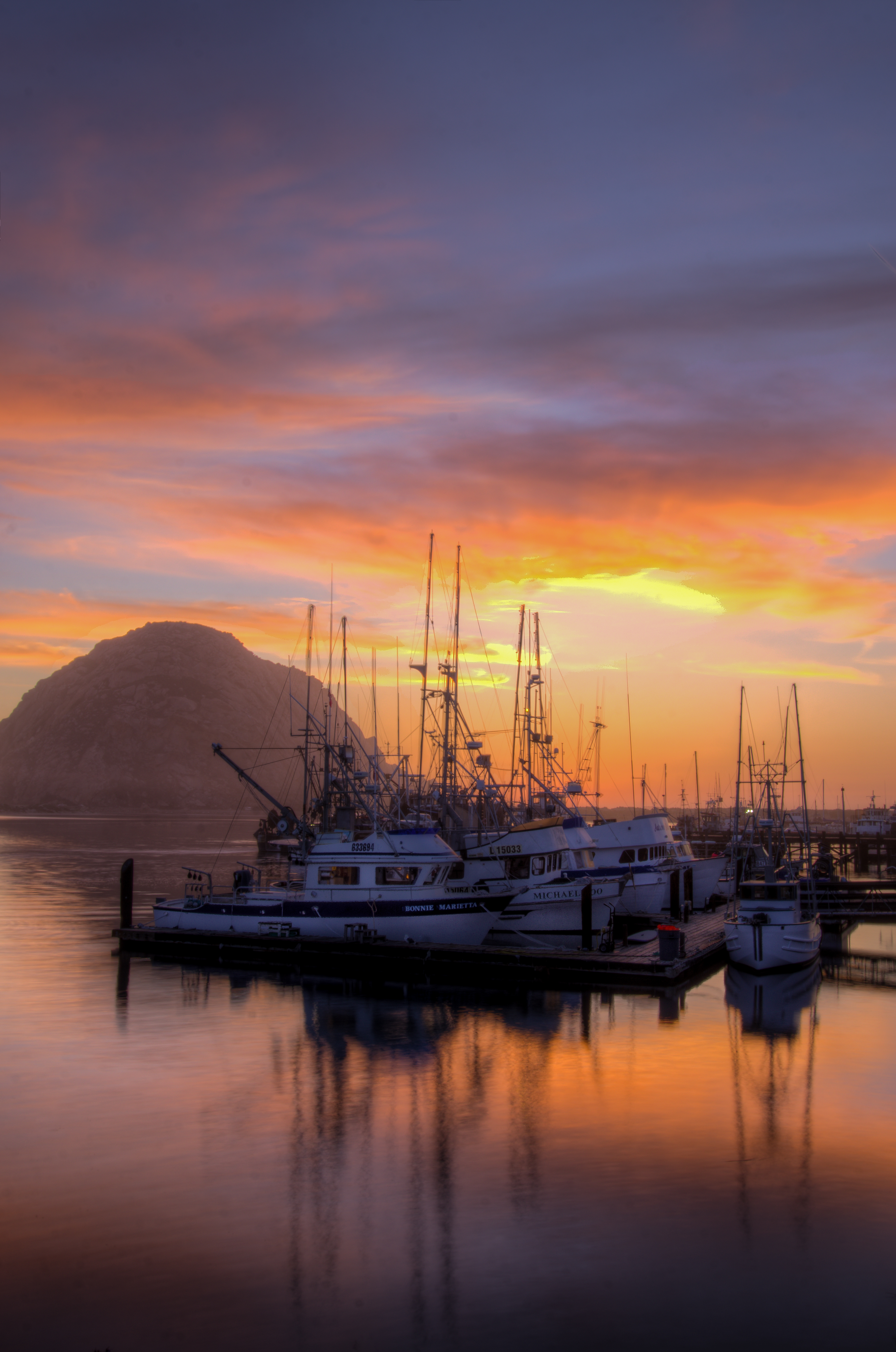 Morro Bay Harbor_HDR_8712_13_14_15_16