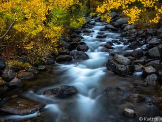 An Autumn Morning, South Fork Bishop Creek