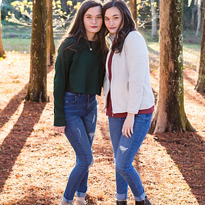 Morgan and Meagan Senior 2018
