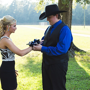Kailey and Westin Homecoming