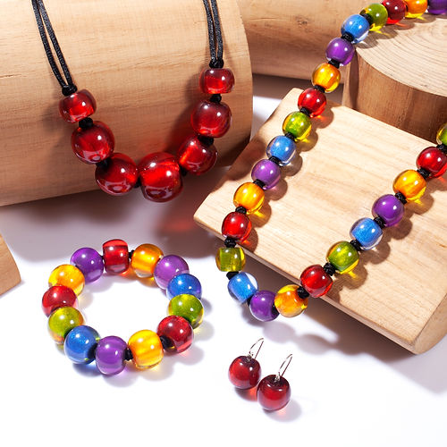 ZSISKA Colourful Beads Collection