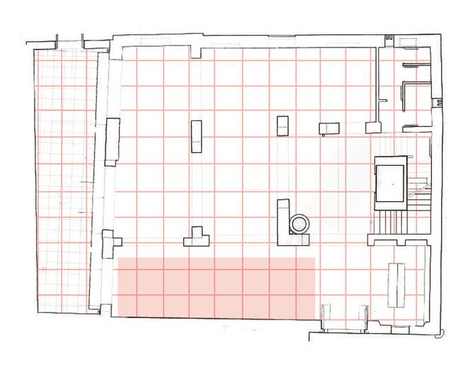 Plano proyecto (ubicación). Mirar desde el espacio