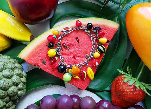 Pulseira Frutas