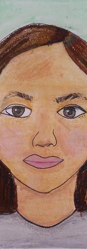 AUDREY, age 9