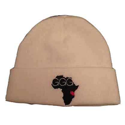 GGG White Winter Toque