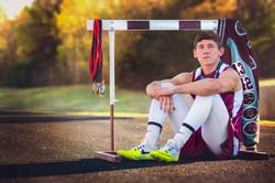 Fine Art Senior Sports Portrait Phot