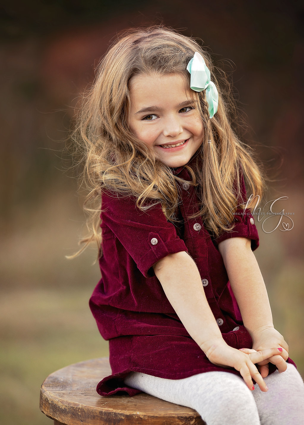 Cute Little Girl Family Photography
