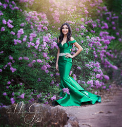 Dramatic Senior Prom Photography