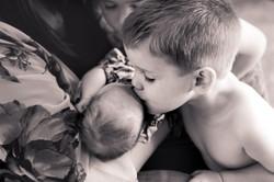 Sweet siblings Newborn Photography