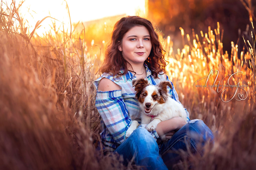 Stunning Golden Light Senior Photo