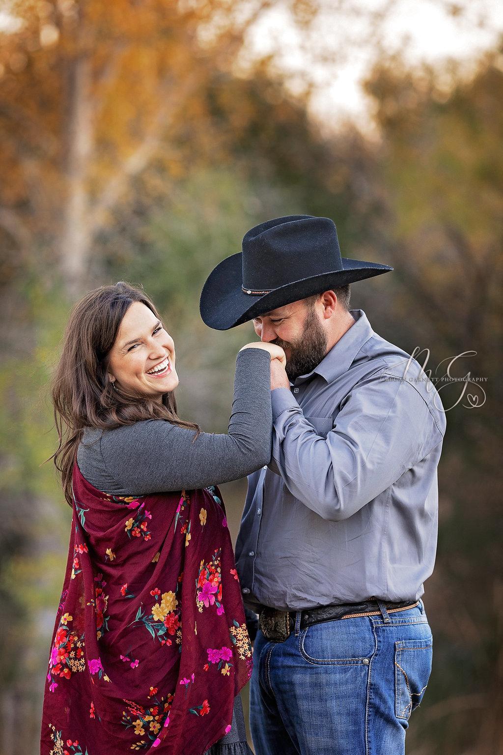 Fine Art Engagement Portrait Photogr