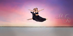 Stunning Dancer in Sunset