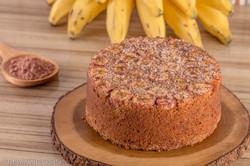 Bolo de Banana Caramelizada da Boleira Mimosa