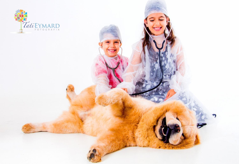 Ensaio Pet e Família