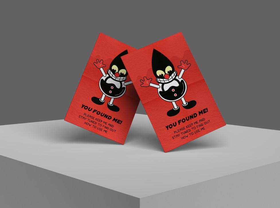 Free Brand PSD Stylish Business Card Moc