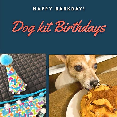 DOG BIRTHDAY DAY KIT