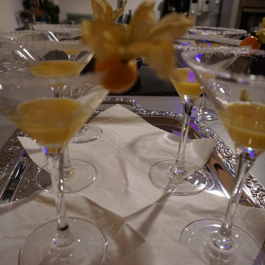 Begrüßungs-Cocktail