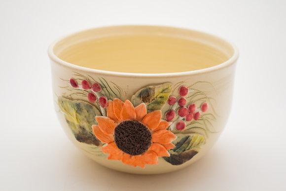 Flower Pot with Black Eye