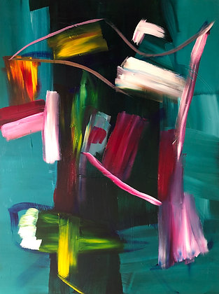 Untitled (Acrylic on canvas #12)