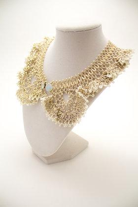 Dalila Necklace in Pearl