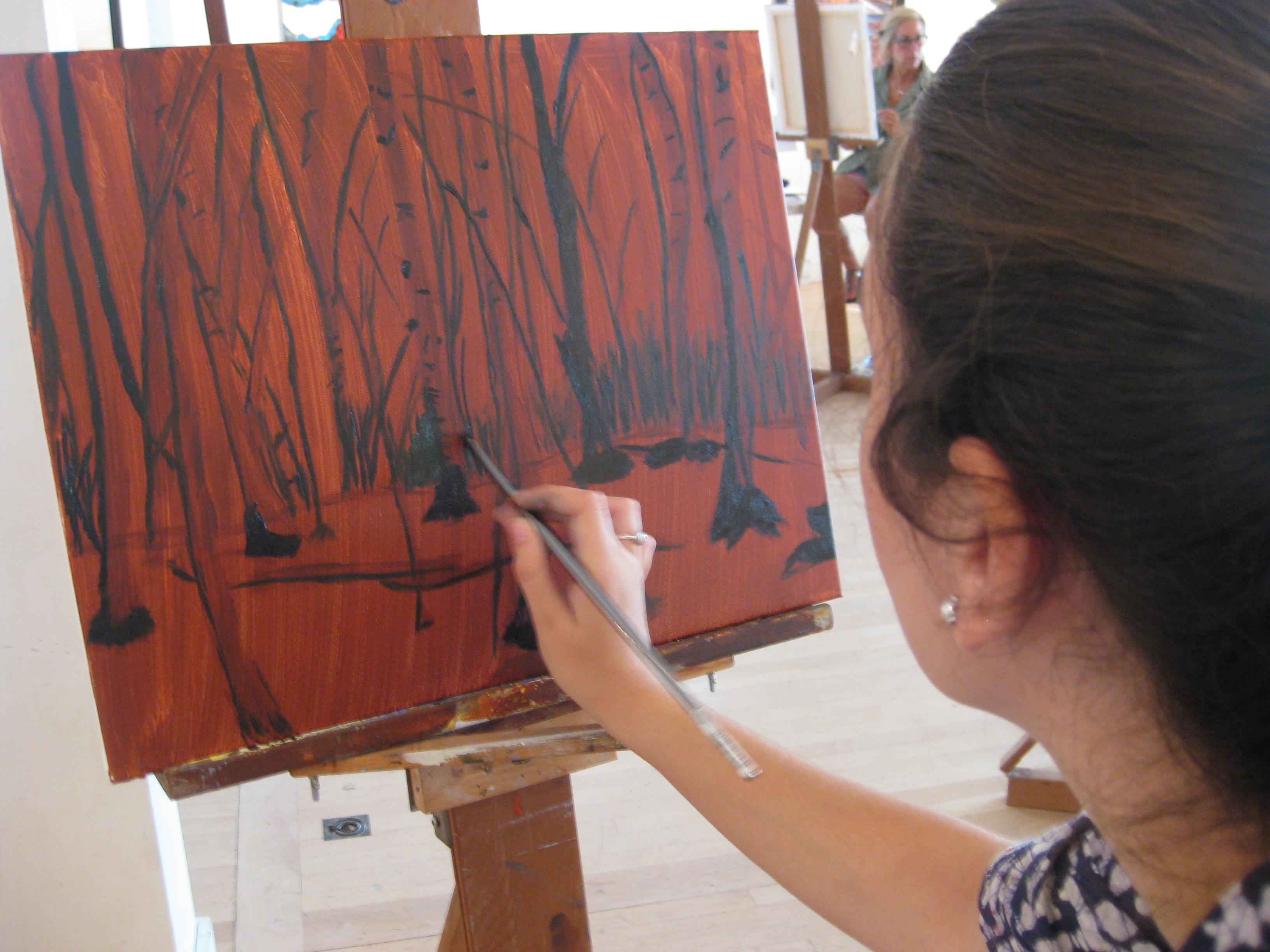David Kelavey Art Course