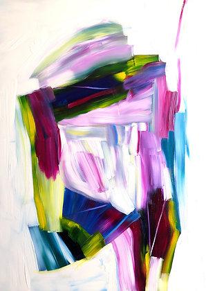 Untitled (Acrylic on canvas #1)