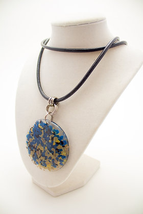 Blue and Grey Necklace