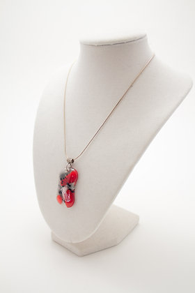 PdLdich Red and Black Necklace