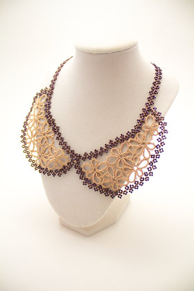 C483 Necklace in Brown