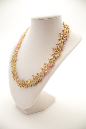 Giselle Necklace in Rosegold