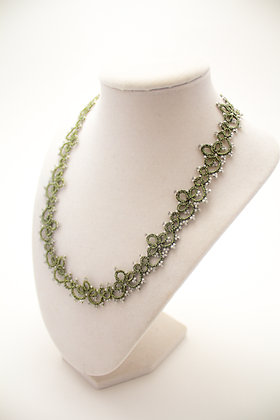 Josephine Necklace in Green