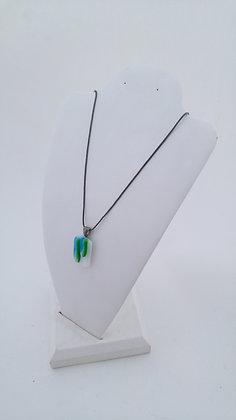 Green & Aqua Pendant Necklace
