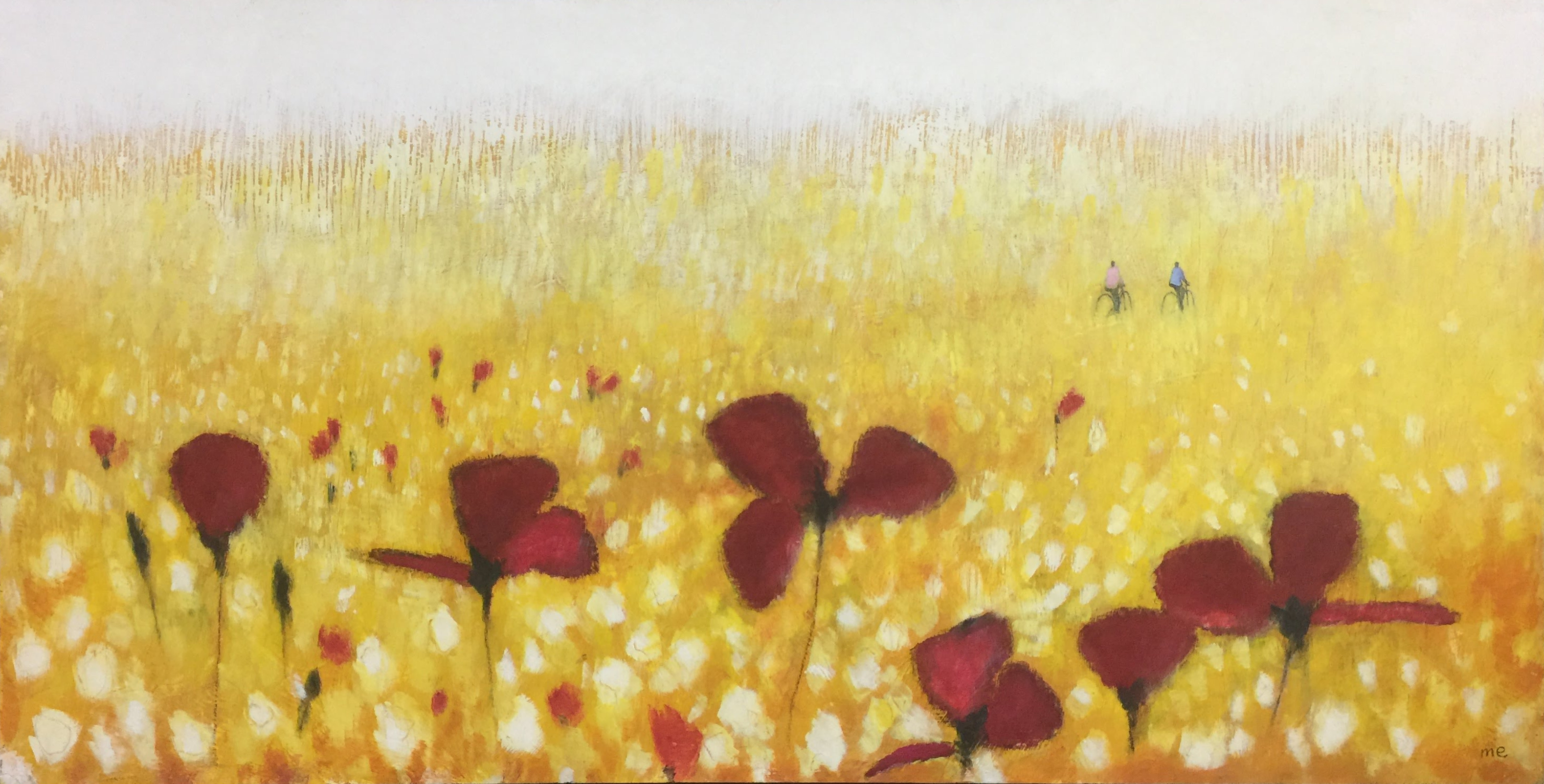 Field of Poppies 24x48
