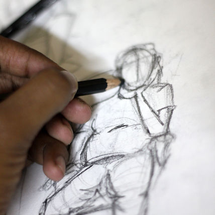 writing-hand-pencil-portrait-finger-arti