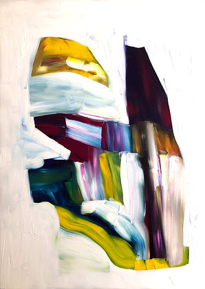 Untitled (Acrylic on canvas #2)