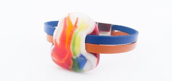 Rainbow Fire Bracelet