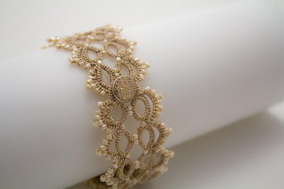 Ranata Cream Bracelet