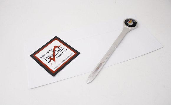 Glass & Metal Letter Opener