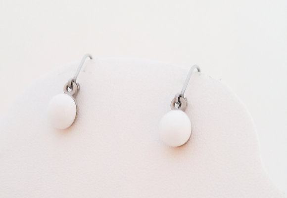 """Snow"" Earrings"
