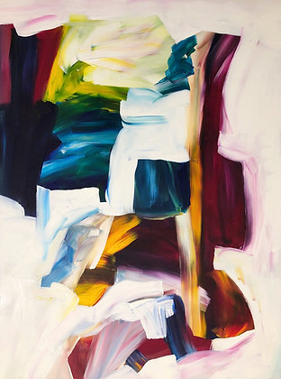 Untitled (Acrylic on canvas #9)