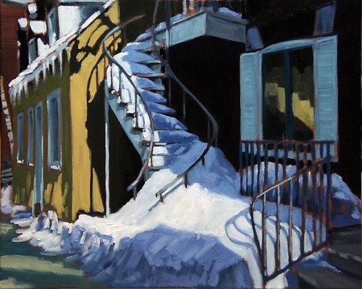 Montreal Staircase Study