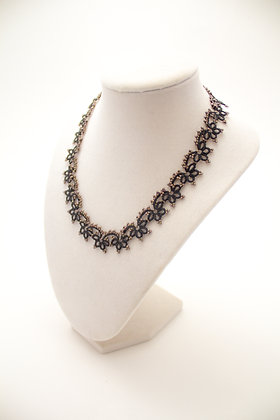 Josephine Necklace in Slate