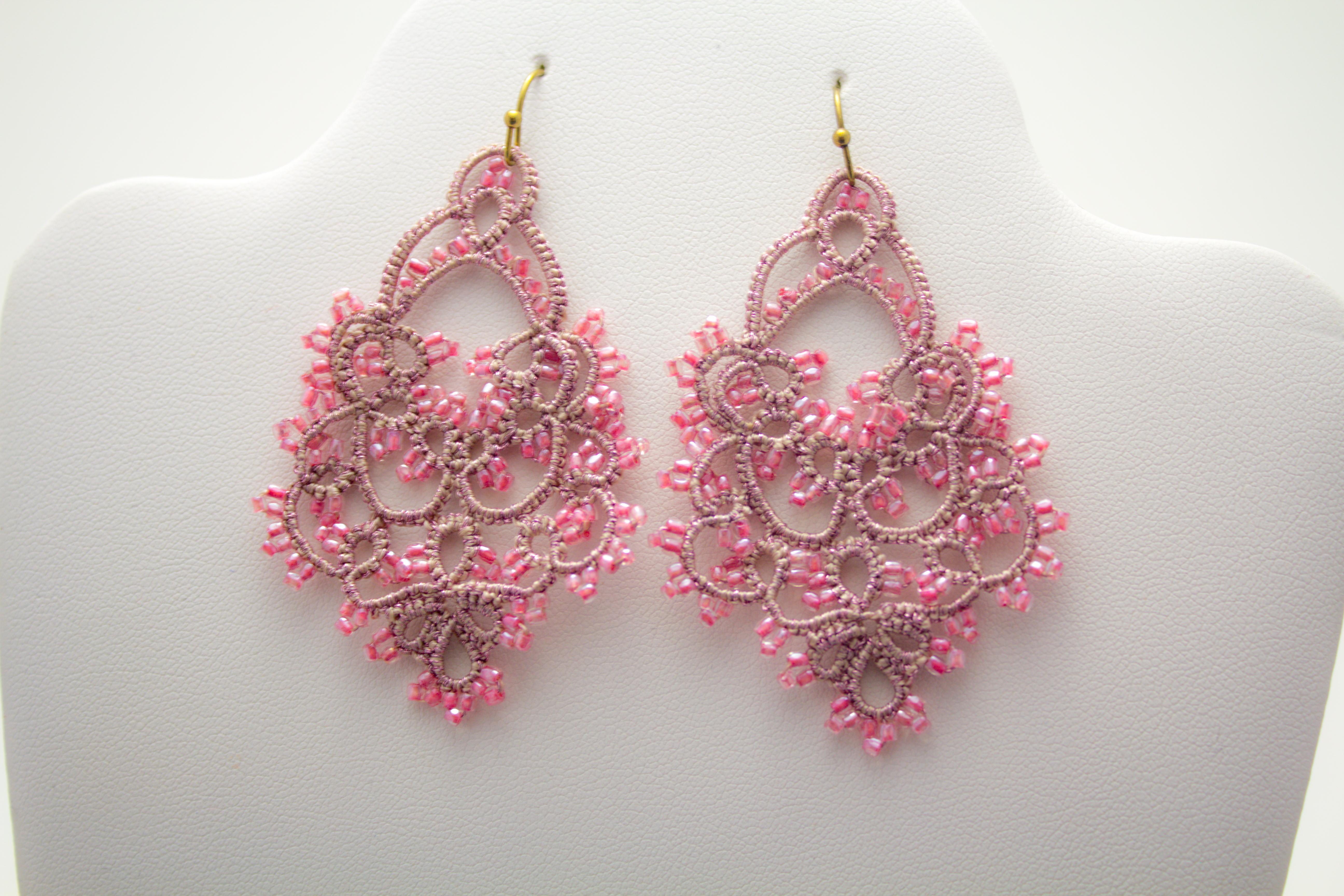 Bianca Earring Pink 1