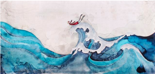 Surfeuse Sereine