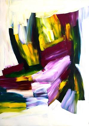 Untitled (Acrylic on canvas #6)