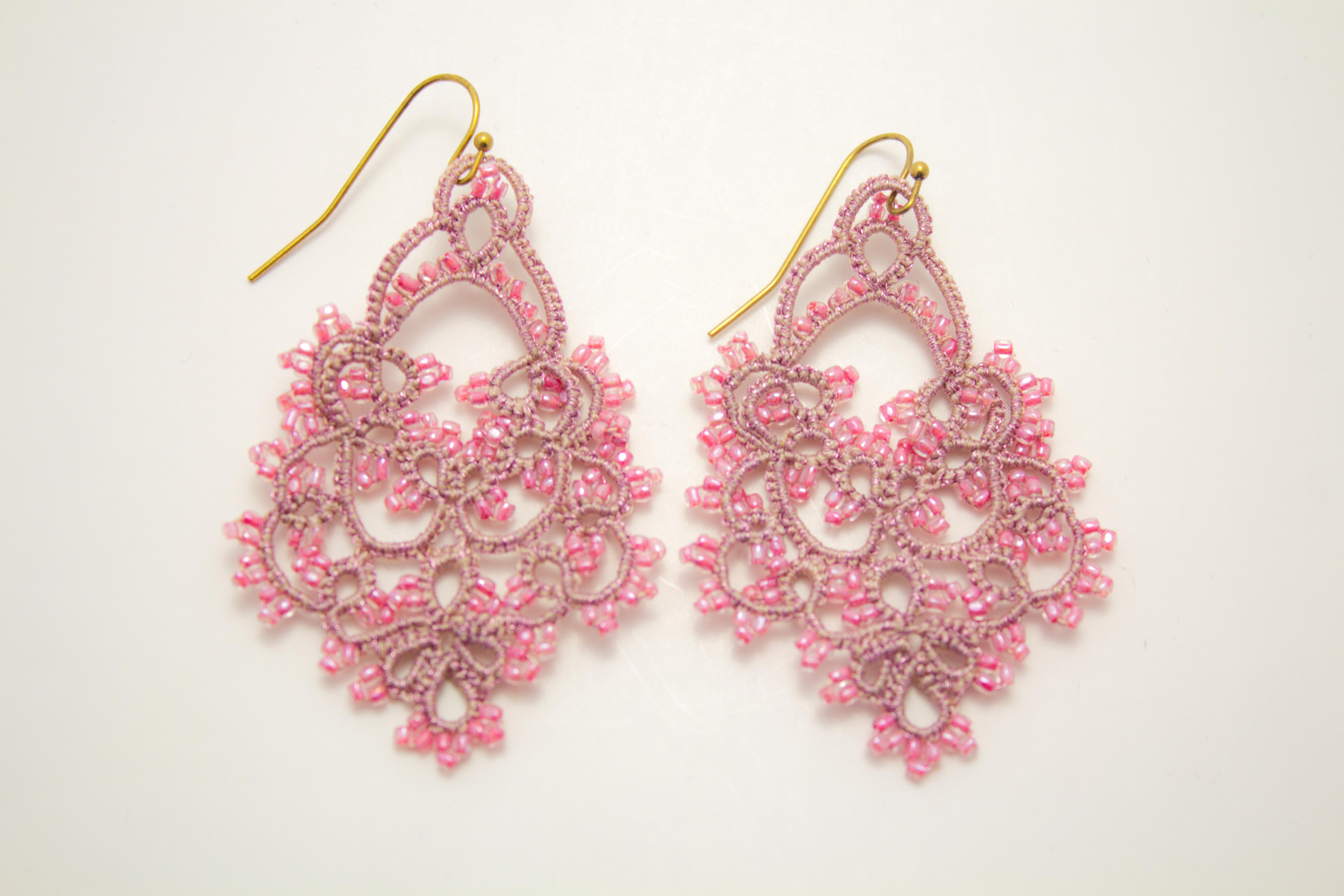 Bianca Earring Pink 3